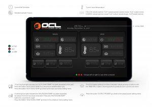 Digital Lighting Touchscreen Controller