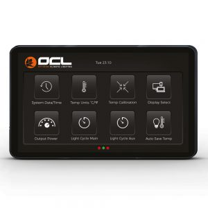 OCL Lighting TouchScreen Controller Menu menu 1
