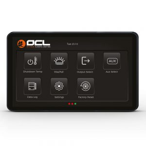 OCL Lighting TouchScreen Controller Menu menu 2